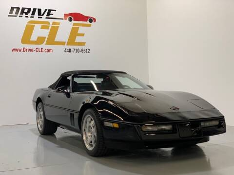 1990 Chevrolet Corvette for sale at Drive CLE in Willoughby OH