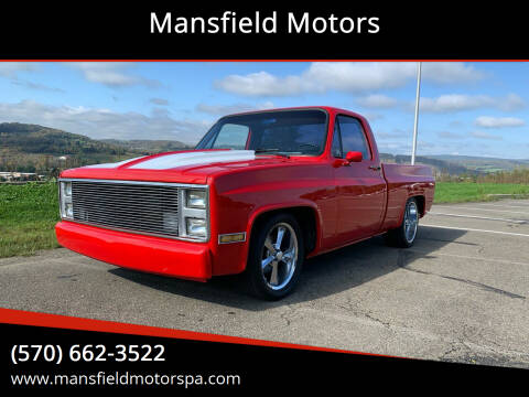 1986 Chevrolet C/K 10 Series for sale at Mansfield Motors in Mansfield PA