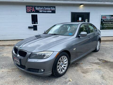 2009 BMW 3 Series for sale at Skelton's Foreign Auto LLC in West Bath ME