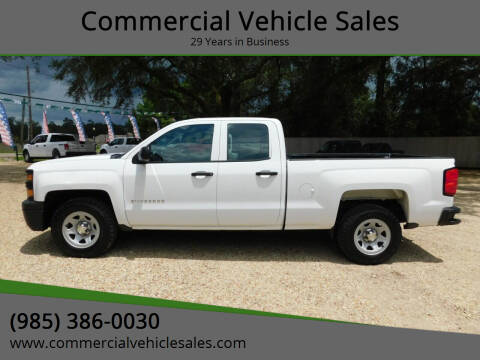 2015 Chevrolet Silverado 1500 for sale at Commercial Vehicle Sales in Ponchatoula LA