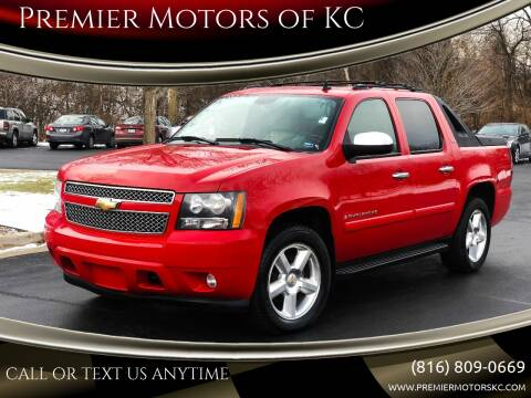 2008 Chevrolet Avalanche for sale at Premier Motors of KC in Kansas City MO