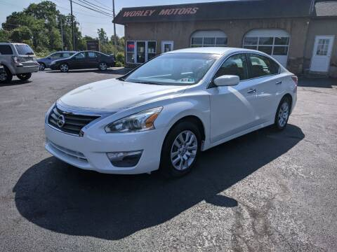 2013 Nissan Altima for sale at Worley Motors in Enola PA