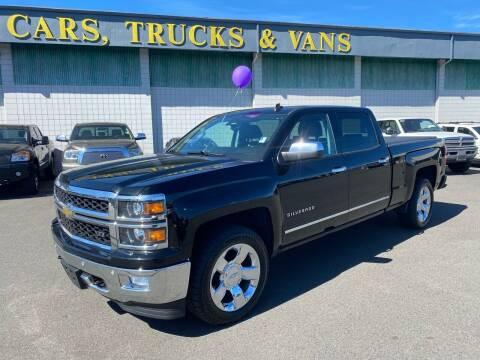 2014 Chevrolet Silverado 1500 for sale at Vista Auto Sales in Lakewood WA