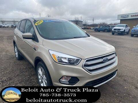 2017 Ford Escape for sale at BELOIT AUTO & TRUCK PLAZA INC in Beloit KS