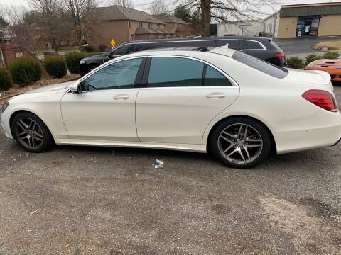2016 Mercedes-Benz S-Class for sale at Kentucky Auto Sales & Finance in Bowling Green KY