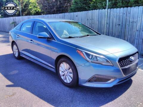 2016 Hyundai Sonata Hybrid for sale at Smart Chevrolet in Madison NC