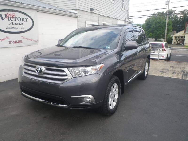 2013 Toyota Highlander for sale at VICTORY AUTO in Lewistown PA