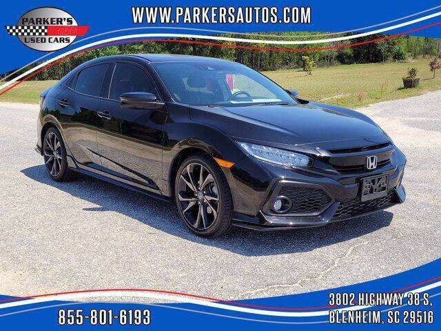 2018 Honda Civic for sale at Parker's Used Cars in Blenheim SC