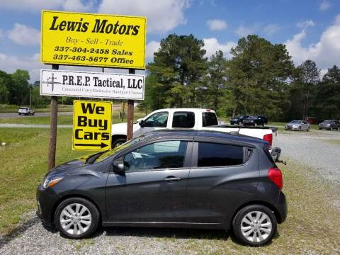 2017 Chevrolet Spark for sale at Lewis Motors LLC in Deridder LA