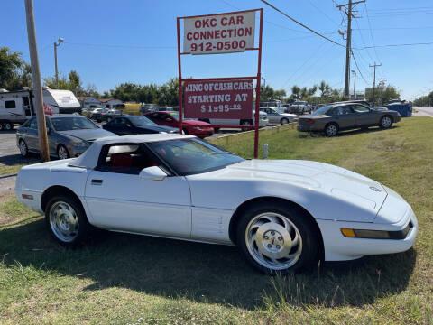 1993 Chevrolet Corvette for sale at OKC CAR CONNECTION in Oklahoma City OK