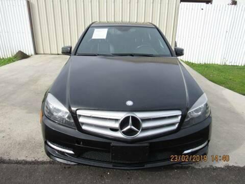 2011 Mercedes-Benz C-Class for sale at ATLANTIC MOTORS GP LLC in Houston TX