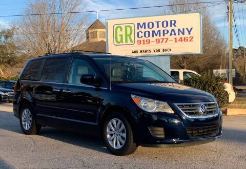 2014 Volkswagen Routan for sale at GR Motor Company in Garner NC