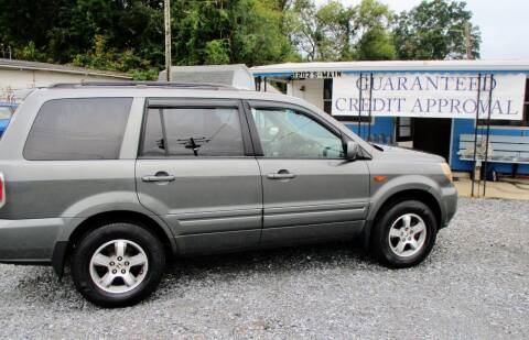 2007 Honda Pilot for sale at Family Auto Sales of Mt. Holly LLC in Mount Holly NC