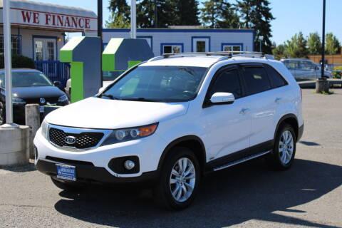 2011 Kia Sorento for sale at BAYSIDE AUTO SALES in Everett WA