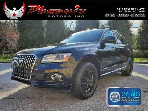 2014 Audi Q5 for sale at Phoenix Motors Inc in Raleigh NC