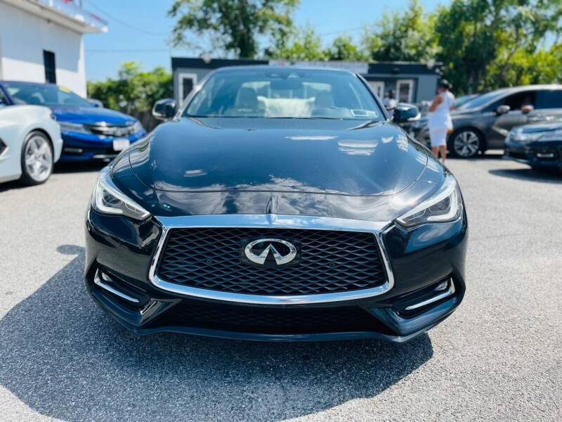2018 Infiniti Q60 for sale at Sincere Motors LLC in Baltimore MD