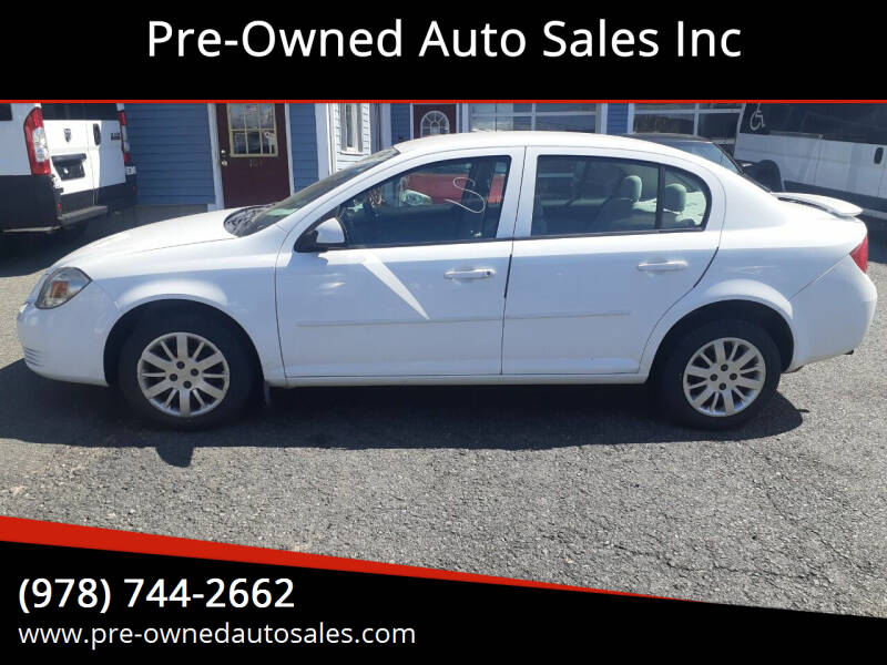 2010 Chevrolet Cobalt for sale at Pre-Owned Auto Sales Inc in Salem MA