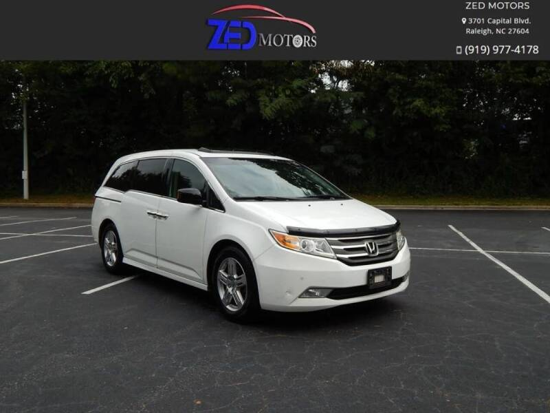 2011 Honda Odyssey for sale at Zed Motors in Raleigh NC