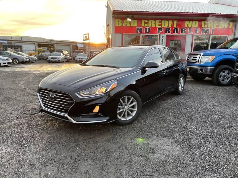 2018 Hyundai Sonata for sale at Yaktown Motors in Union Gap WA