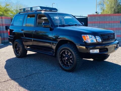 2000 Lexus LX 470 for sale at Autodealz in Tempe AZ