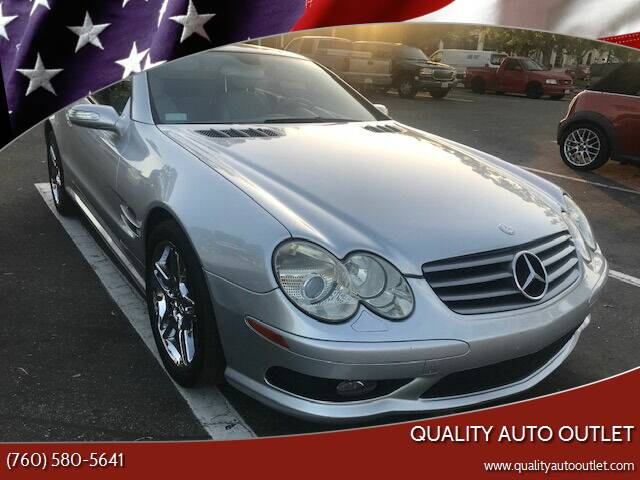 2006 Mercedes-Benz SL-Class for sale at Quality Auto Outlet in Vista CA