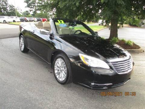 2012 Chrysler 200 Convertible for sale at Euro Asian Cars in Knoxville TN