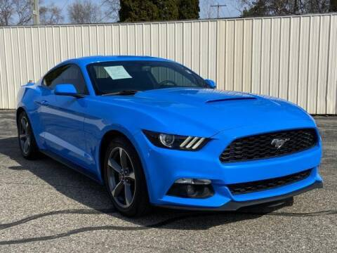 2017 Ford Mustang for sale at Miller Auto Sales in Saint Louis MI