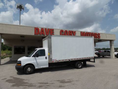 2019 Chevrolet Express Cutaway for sale at DAVE CORY MOTORS in Houston TX