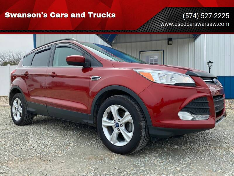 2015 Ford Escape for sale at Swanson's Cars and Trucks in Warsaw IN