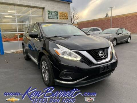 2016 Nissan Murano for sale at KEN BARRETT CHEVROLET CADILLAC in Batavia NY