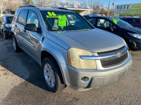 2006 Chevrolet Equinox for sale at Choice Motors of Salt Lake City in West Valley  City UT