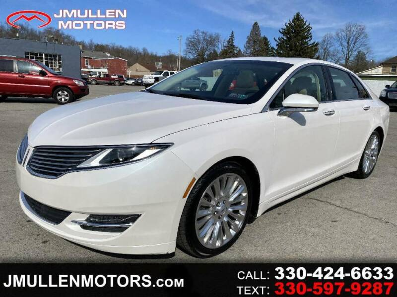 2015 Lincoln MKZ for sale in Lisbon, OH