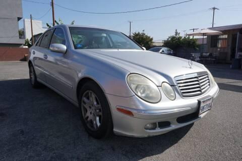 2005 Mercedes-Benz E-Class for sale at Win Motors Inc. in Los Angeles CA
