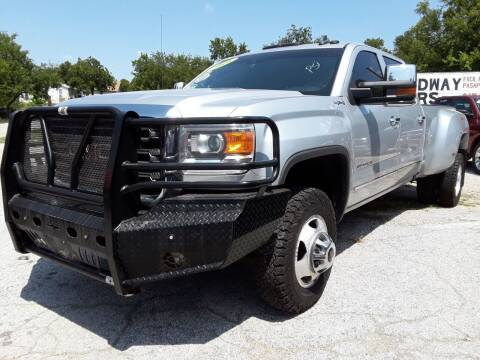 2016 GMC Sierra 3500HD for sale at Speedway Motors TX in Fort Worth TX