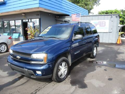 2004 Chevrolet TrailBlazer for sale at AUTO BROKERS OF ORLANDO in Orlando FL