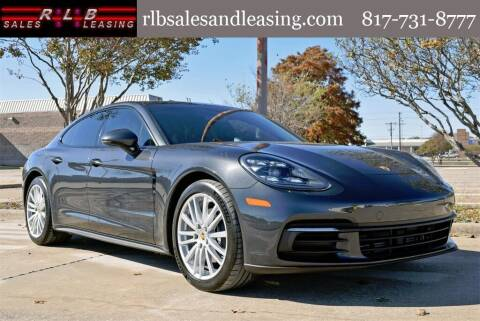 2017 Porsche Panamera for sale at RLB Sales and Leasing in Fort Worth TX