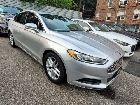 2015 Ford Fusion for sale at LIBERTY AUTOLAND INC - LIBERTY AUTOLAND II INC in Queens Villiage NY
