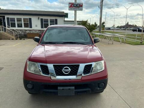 2012 Nissan Frontier for sale at Zoom Auto Sales in Oklahoma City OK