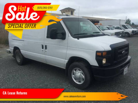 2008 Ford E-Series Cargo for sale at CA Lease Returns in Livermore CA