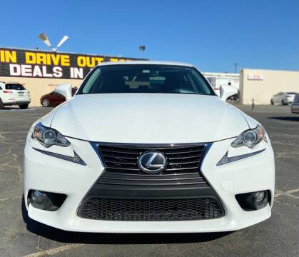 2014 Lexus IS 250 for sale at Global Auto Group in Fontana CA