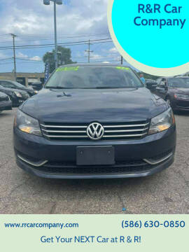 2014 Volkswagen Passat for sale at R&R Car Company in Mount Clemens MI
