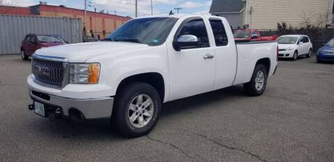 2009 GMC Sierra 1500 for sale at Dave Ducharme's Auto Sales in Lowell MA