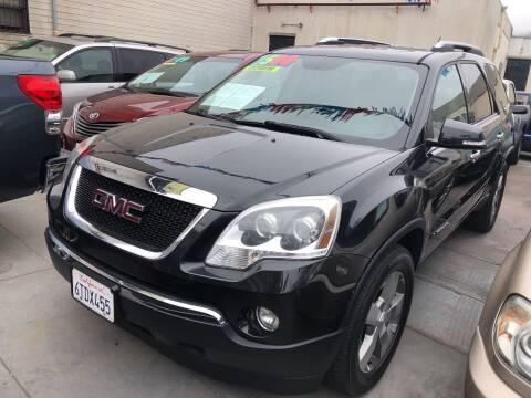2008 GMC Acadia for sale at Excelsior Motors , Inc in San Francisco CA