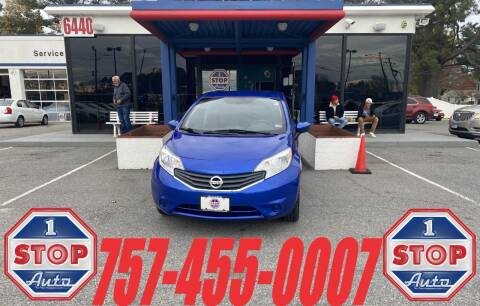 2016 Nissan Versa Note for sale at 1 Stop Auto in Norfolk VA