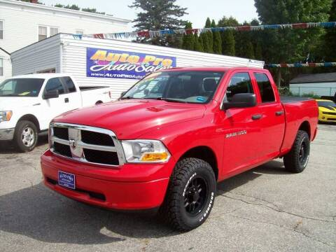 2011 RAM Ram Pickup 1500 for sale at Auto Pro Auto Sales in Lewiston ME