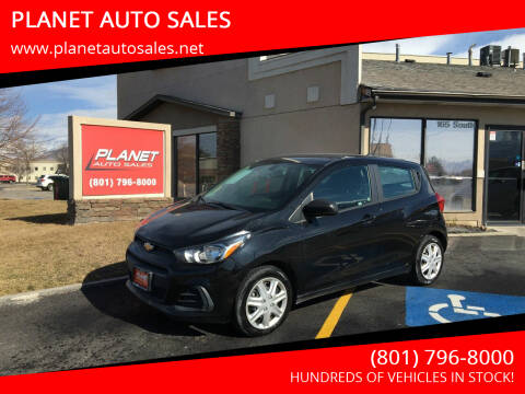 2017 Chevrolet Spark for sale at PLANET AUTO SALES in Lindon UT