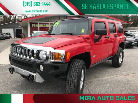 2009 HUMMER H3 for sale at Mira Auto Sales in Raleigh NC