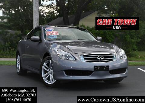 2009 Infiniti G37 Coupe for sale at Car Town USA in Attleboro MA