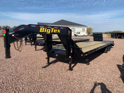 2022 Big Tex 22GN 25+5 Mega Ramps #9914 for sale at Prairie Wind Trailers, LLC in Harrisburg SD