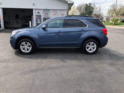 2011 Chevrolet Equinox for sale at J&J Car and Truck Sales in North Canton OH